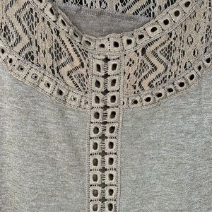 Altar'd State Dresses - Altar'd State Ruffle Sleeve Boho Dress Size L